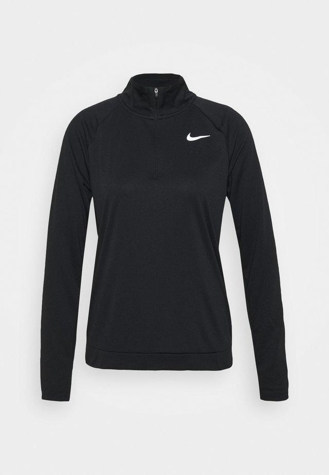 PACER - Sportshirt - black/reflective silver