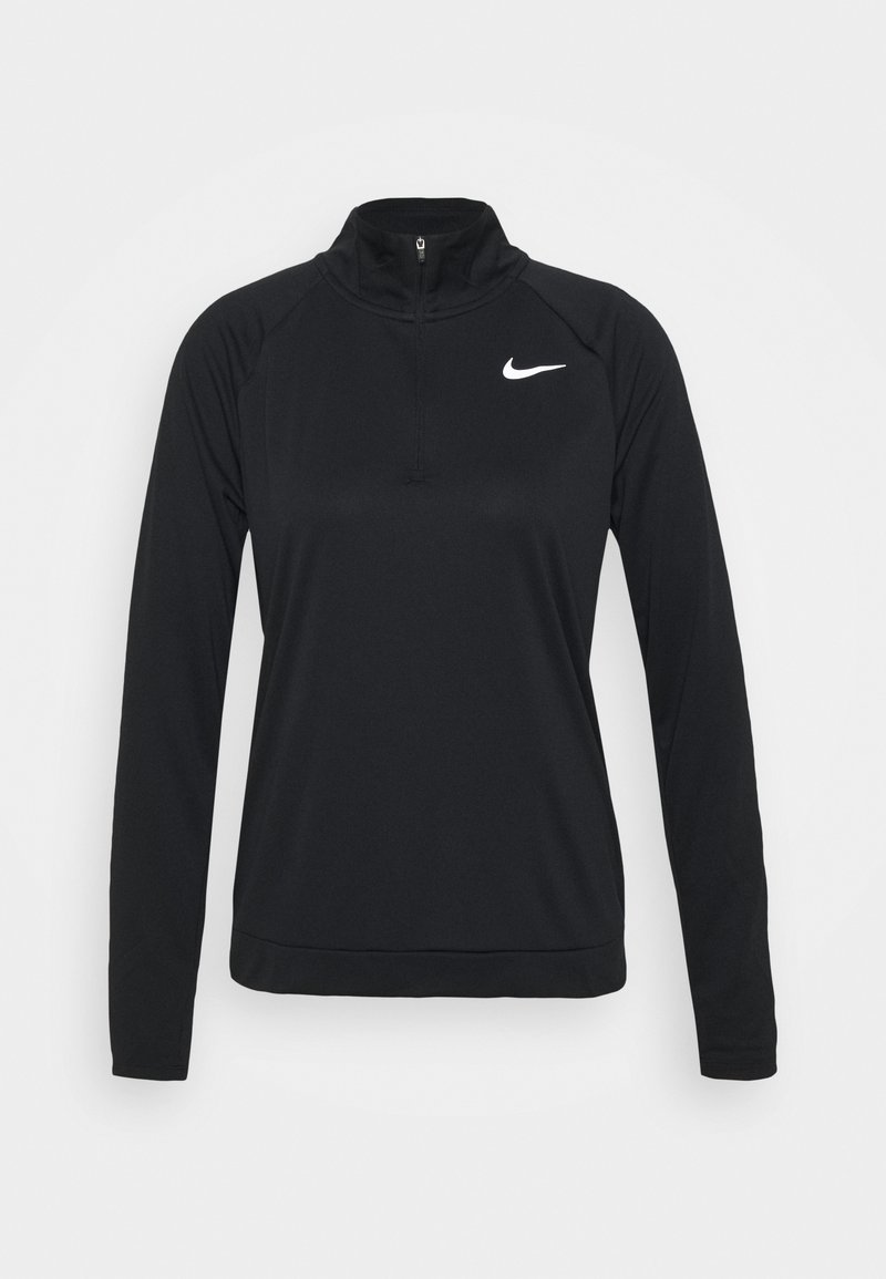 Nike Performance - PACER - Sports shirt - black/reflective silver