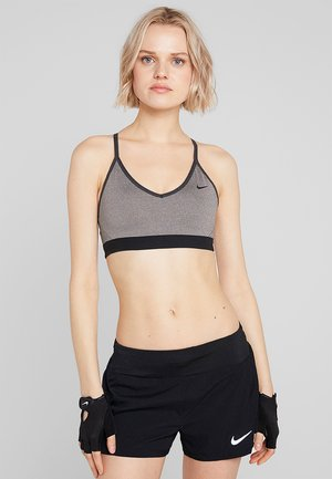 INDY BRA - Sports bra - carbon heather/anthracite/black
