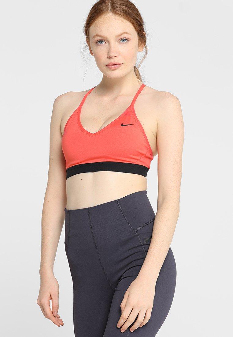 Nike Performance - INDY BRA - Sports bra - ember glow/black
