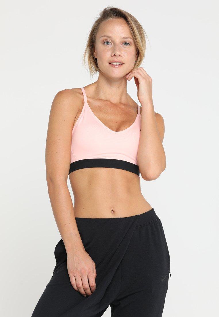 Nike Performance - INDY BRA - Sports bra - storm pink/black/black