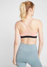 Nike Performance - INDY BRA - Sports bra - pink quartz/black - 2