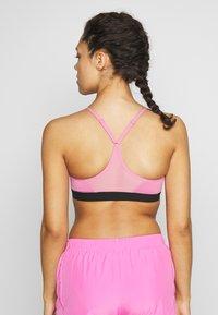 Nike Performance - INDY BRA - Sport BH - magic flamingo/black - 2
