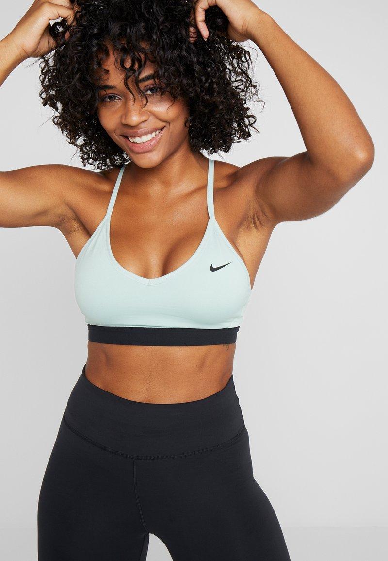 Nike Performance - INDY BRA - Sport BH - pistachio frost/black
