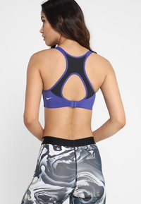 Nike Performance - RIVAL BRA HIGH SUPPORT - Sport BH - light concord/black/white - 2