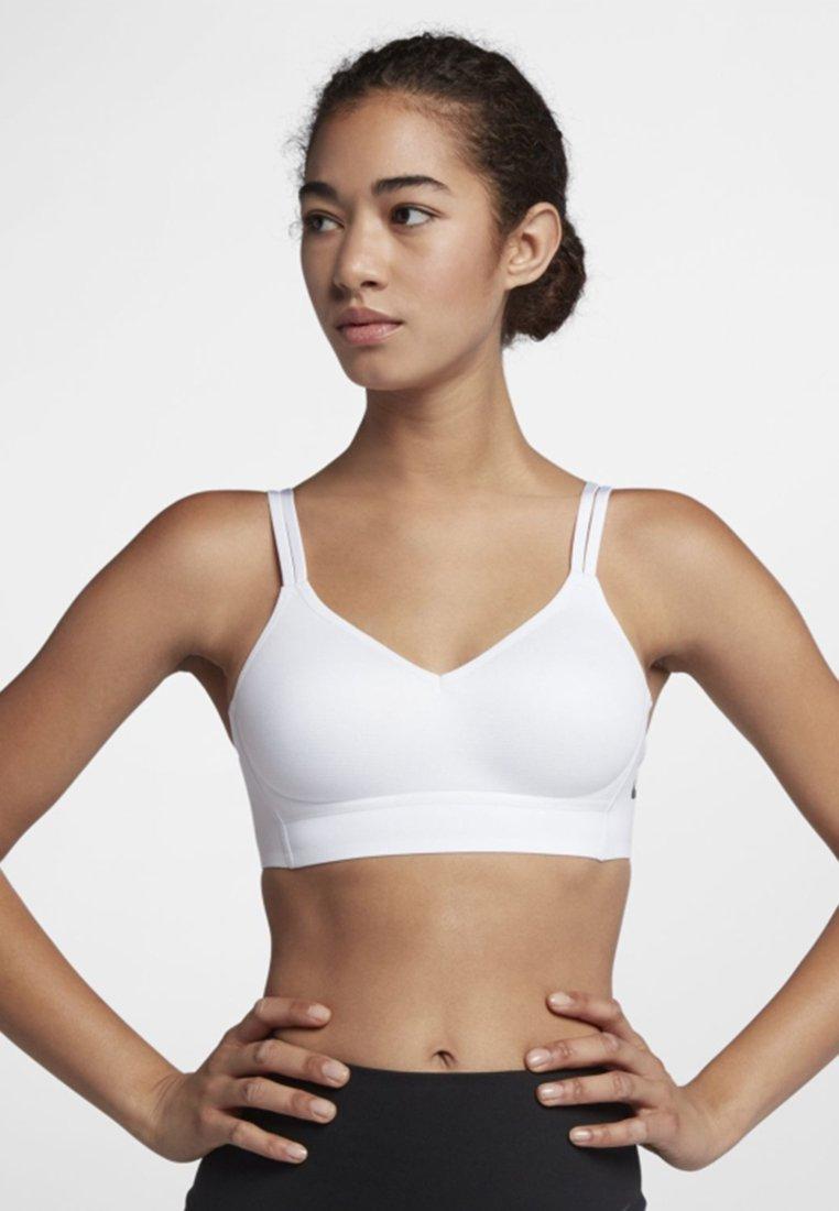 Nike Performance - Sport-bh - white/white/black