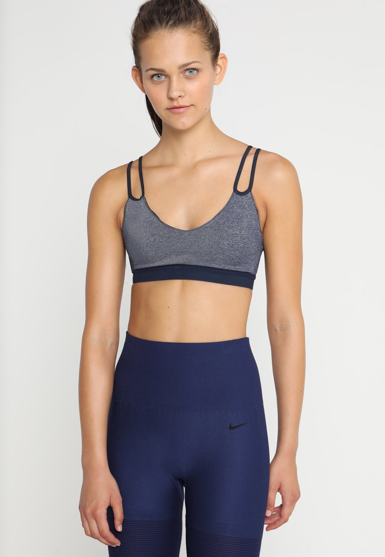 Nike Performance - INDY SPARKLE BRA - Sports bra - obsidian/black