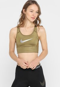 Nike Performance - BRA - Sports-BH - khaki - 0