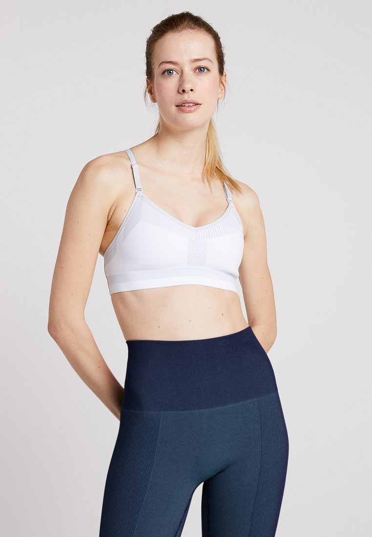 Nike Performance - TECH PACK INDY BRA - Sport-bh - white