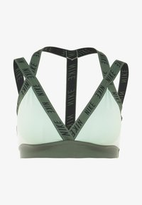 Nike Performance - INDY LOGO BRA - Sport BH - pistachio frost/juniper fog/black - 4