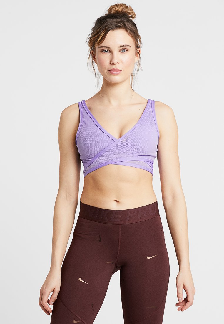 Nike Sportswear - AIR BRA - Bustier - space purple/white