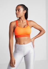 Nike Performance - BREATHE BRA - Sports bra - total orange/team orange/black - 0