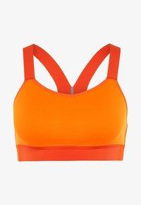 Nike Performance - BREATHE BRA - Sports bra - total orange/team orange/black - 4