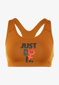 Nike Performance - Reggiseno sportivo - burnt sienna/black - 3