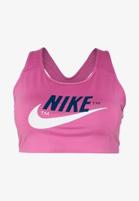 Nike Performance - PLUS SIZE BRA - Biustonosz sportowy - cosmic fuchsia/valerian blue/white - 3