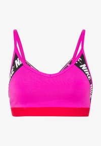 Nike Performance - INDY  - Sports bra - fire pink/track red/white - 4