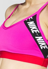 Nike Performance - INDY  - Sports bra - fire pink/track red/white - 5