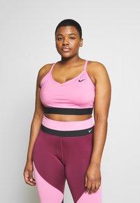 Nike Performance - INDY PLUS SIZE BRA - Sports bra - magic flamingo/black - 0
