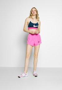 Nike Performance - BRA LIGHT - Sports bra - valerian blue/hyper pink/barely rose - 1