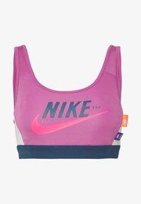 Nike Performance - MED PAD BRA - Sport BH - cosmic fuchsia/valerian blue/white - 3