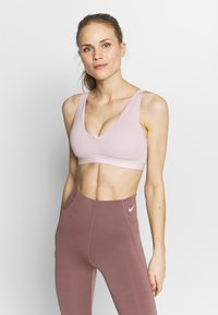 Nike Performance - FAVORITES NOVELTY BRA - Sports bra - plum chalk/barely rose - 0