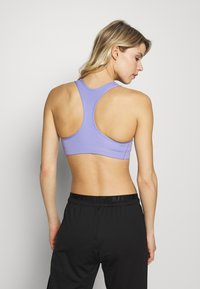 Nike Performance - BRA NON PAD - Sports bra - light thistle/black - 2
