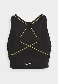 Nike Performance - BRA - Sport BH - black/earth/laser orange - 1