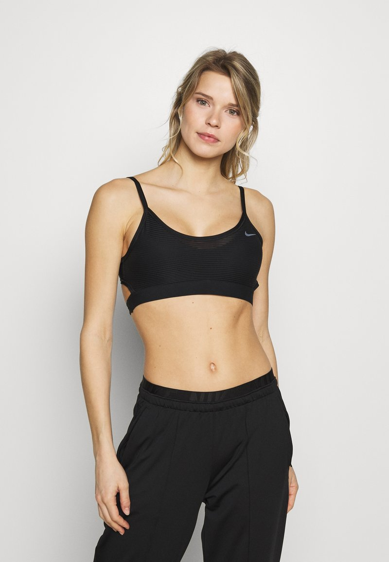 Nike Performance - INDY BRA - Sports bra - black