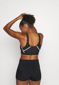Nike Performance - ULTRABREATHE BRA - Sports bra - black/white/university red - 2