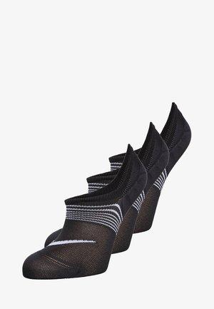 WOMENS LIGHTWEIGHT TRAIN 3 PACK - Sportovní ponožky - black/white