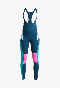 Nike Performance - BEST TIGHT - Punčochy - nightshade/tropical twist/laser fuchsia - 3