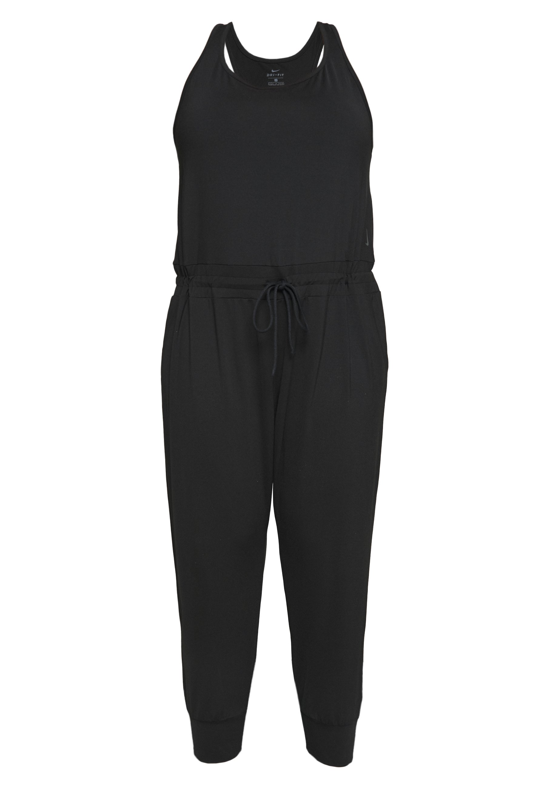 Nike Performance YOGA JUMPSUIT PLUS - Treningsdress - black/smoke grey