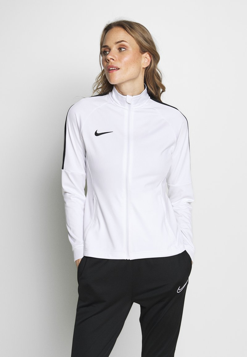 Nike Performance - DRY ACADEMY SUIT - Tracksuit - white/black