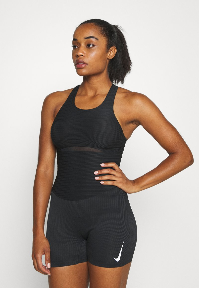 Nike Performance - RACE UNITARD - Gym suit - black