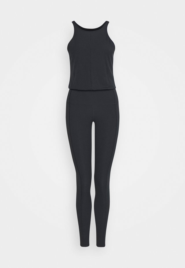 YOGA JUMPSUIT - Tuta sportiva - black