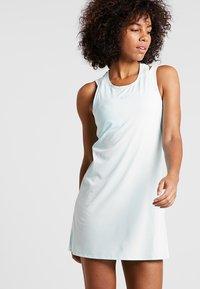 Nike Performance - DRY DRESS - Sports dress - teal tint/white - 0