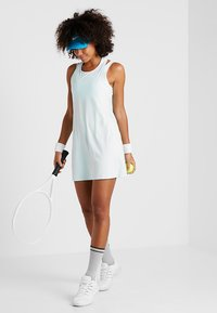 Nike Performance - DRY DRESS - Sports dress - teal tint/white - 1