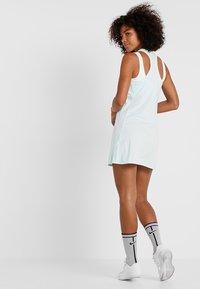 Nike Performance - DRY DRESS - Sports dress - teal tint/white - 2