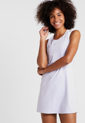 DRY DRESS - Sports dress - oxygen purple/white