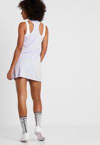 Nike Performance - DRY DRESS - Sports dress - oxygen purple/white - 2
