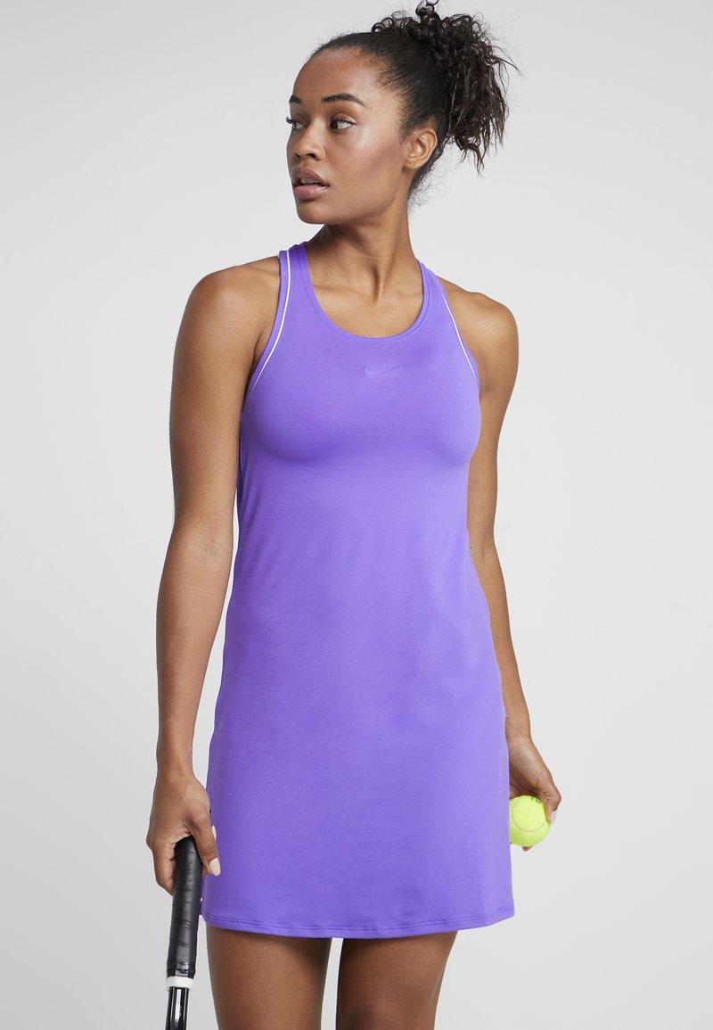 Nike Performance - DRY DRESS - Sportkleid - psychic purple/white
