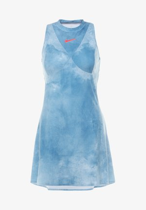 MARIA DRY DRESS - Sportskjole - light armory blue/bright crimson