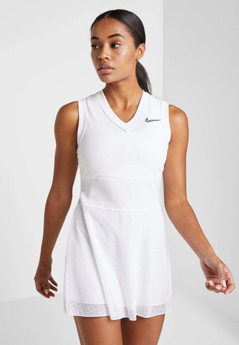 Nike Performance - SLAM - Sportkleid - white/black