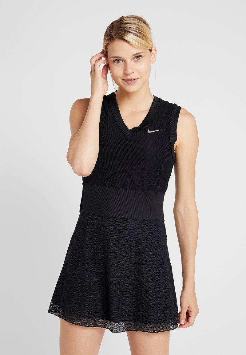 Nike Performance - SLAM - Sportkleid - black/white