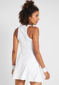 Nike Performance - DRY DRESS - Sports dress - white/black - 2