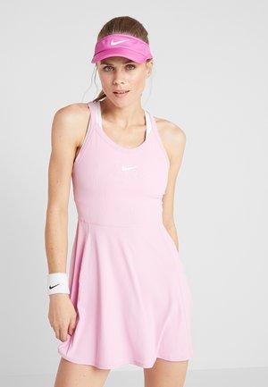 DRY DRESS - Sukienka sportowa - pink rise/white