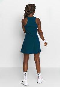 Nike Performance - DRY DRESS - Sports dress - valerian blue/white - 2
