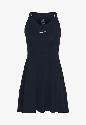 DRY DRESS - Sports dress - obsidian/white