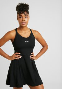 Nike Performance - DRY DRESS - Vestido de deporte - black/white - 0