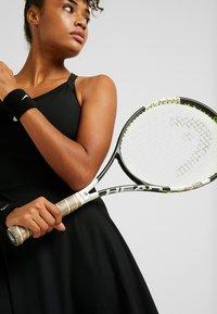Nike Performance - DRY DRESS - Vestido de deporte - black/white - 3